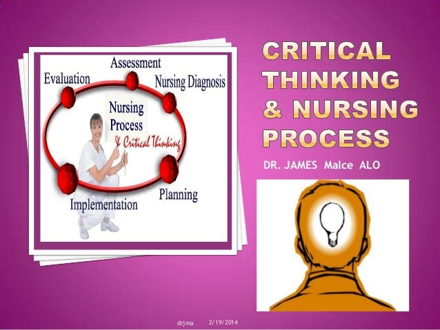 critical thinking nursing quizlet