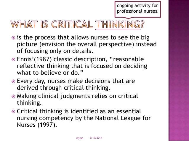 Problem solving following the nursing process nursing essay