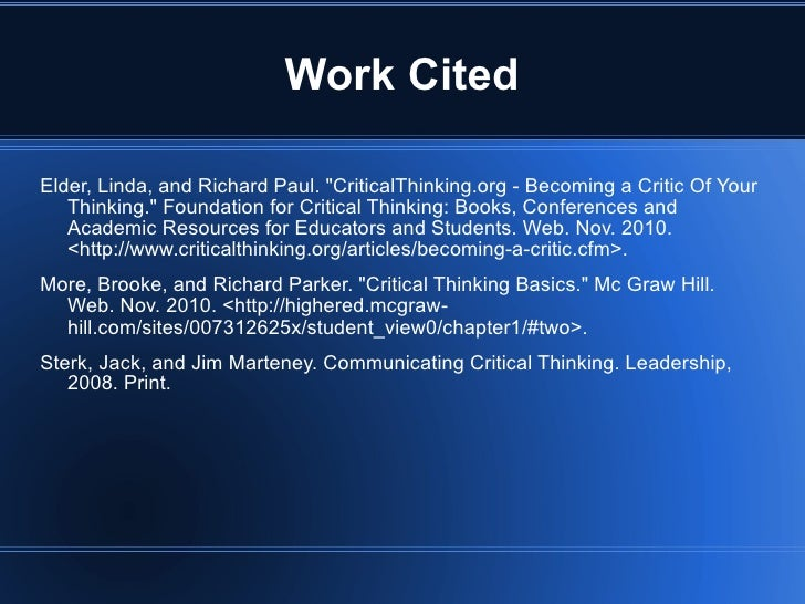 critical thinking richard w paul linda elder The nook book (ebook) of the critical thinking: tools for taking charge of your professional and personal life by richard paul, linda elder | at barnes.