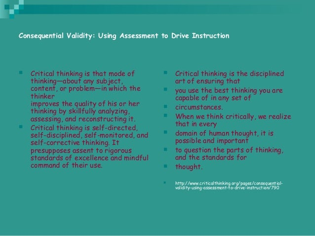 critical thinking powerpoint