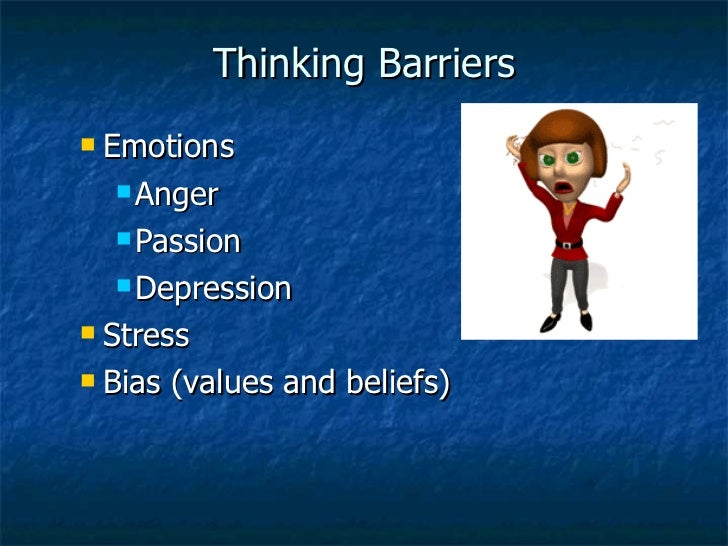 Emotions vs critical thinking