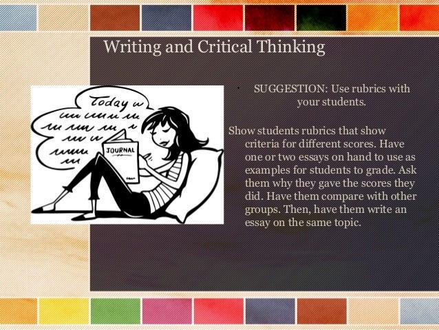 critical thinking through writing