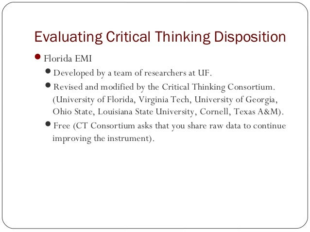 Critical thinking and structured analysis course dia