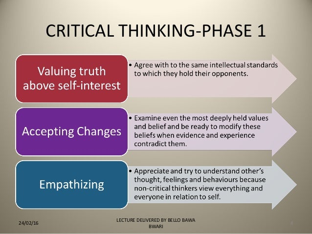 Applied Disciplines  A Critical Thinking Model for TeachThought