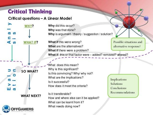 Critical Thinking and Evidence-Based Nursing
