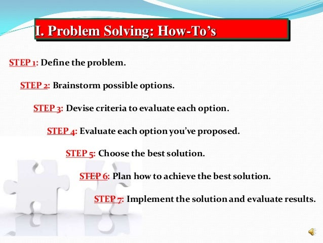 critical thinking and strategic problem solving skills for leaders Critical thinking empowers strategic  new developmental and innovative problem-solving skills are  documents similar to decision making and critical thinking.