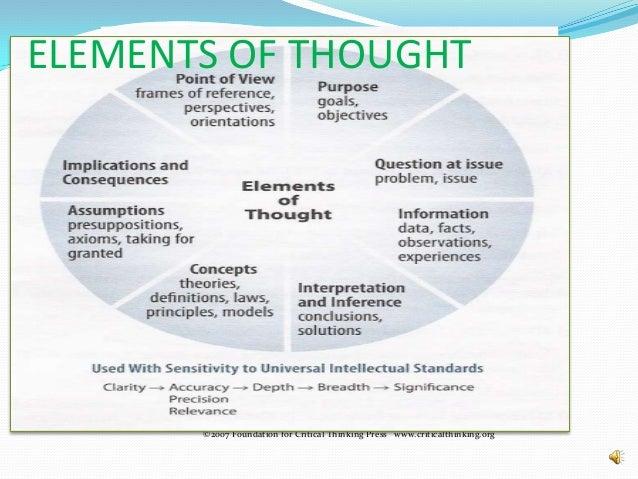 Critical thinking and leadership skills