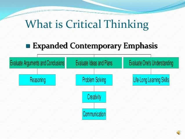 critical thinking and educational leadership By utilising critical thinking leaders are able to comprehend the impact of their  decisions on the overall business of an organisation it also helps.