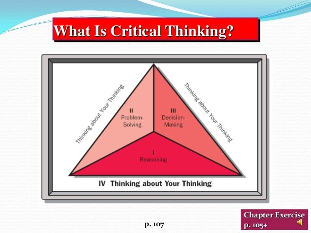 critical thinking exercises Content critical thinking 1 v irtually anything written or talked about in the english-speaking world can be content for english language study.