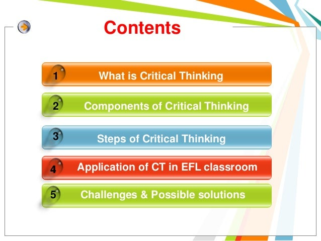 Fostering Critical Thinking Through Effective Pedagogy
