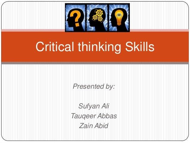 Critical Thinking Videos, Tutorials & Guides