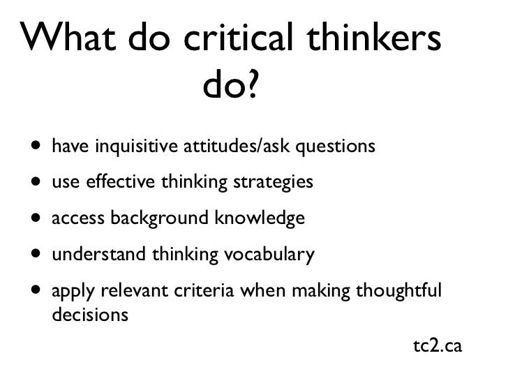 instructional strategies for critical thinking skills In-class debates: fertile ground for active learning and the variety of instructional strategies  in addition to critical thinking skills.