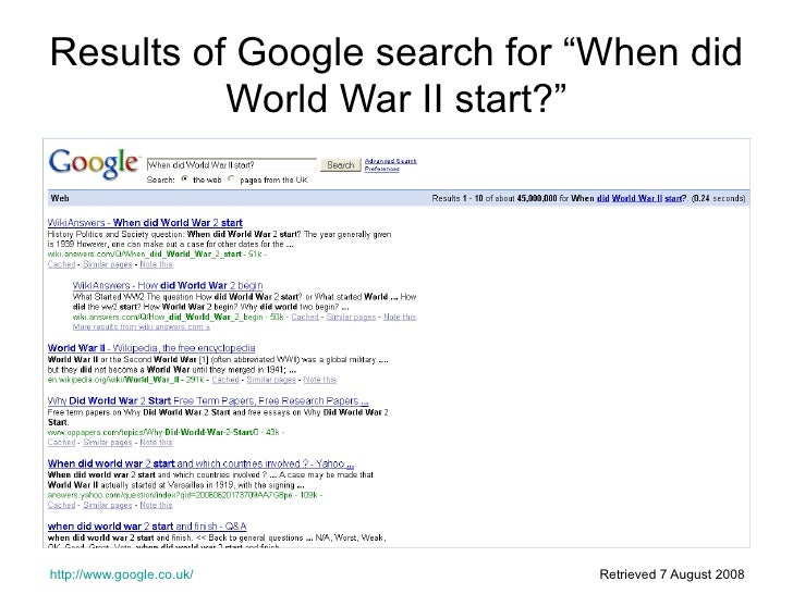 Critical Thinking Unit 1 Question A3 Ww2 Slide Share