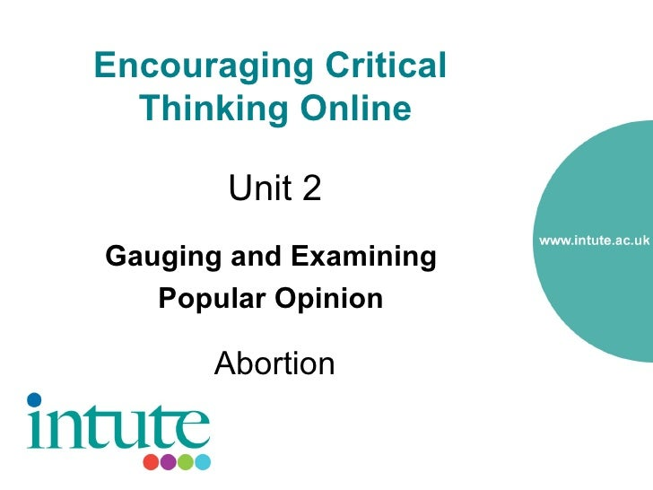 as critical thinking revision unit 2 Thinking the workbook critical what is critical thinking critical thinking is clear, rational, logical, and independent thinking it's about improving thinking by analyzing, assessing, and reconstructing how we think it also means thinking in a self-regulated and  the activity pages in the critical thinking.