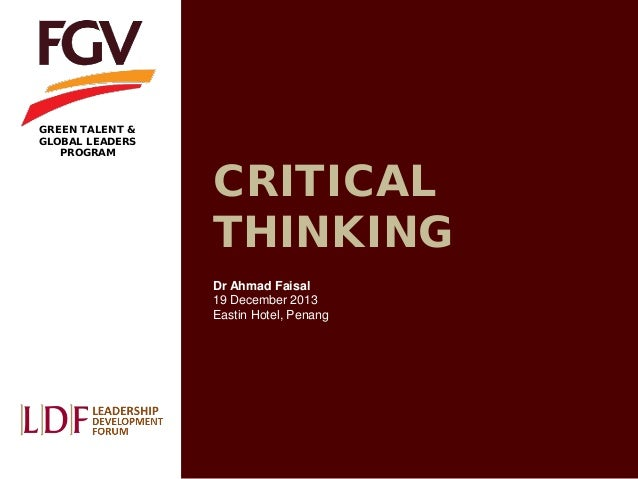 UK Version of the Watson-Glaser Critical Thinking Appraisal