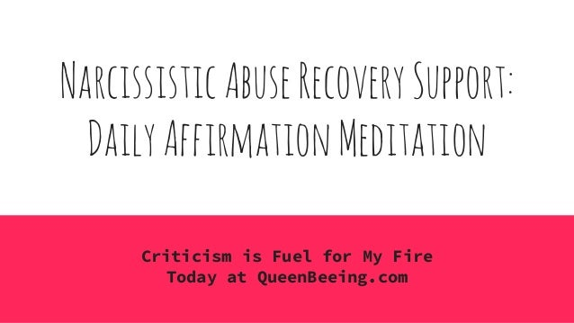 Narcissistic Abuse Recovery Daily Affirmation Meditation