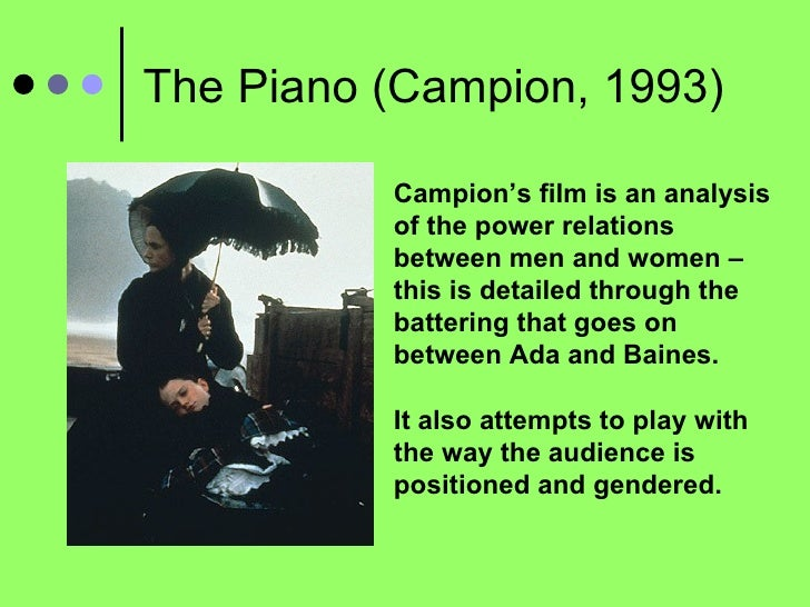 the piano jane campion analysis