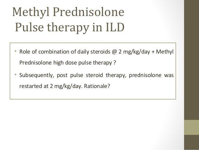pulse dose oral steroids