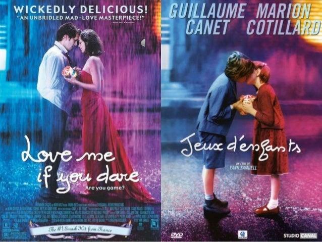 J'aime Le cinéma français en particulier des films d'amour Le cinéma français présente un autre romantisme, c'est ce que j...