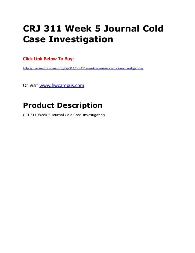 cold case investigation Breadcrumbs isp crime reporting current: cold case investigations cold case investigations the indiana state police conducts various criminal investigations.