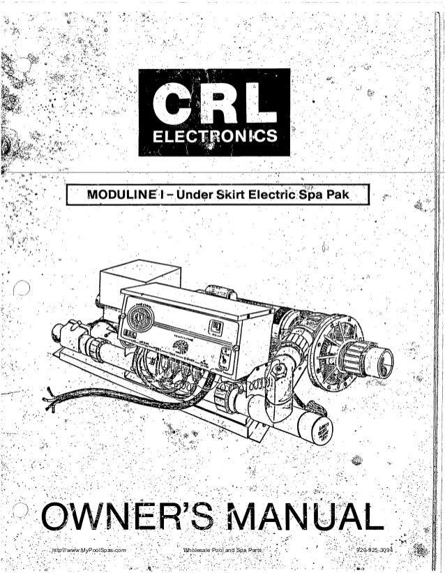 Crl Electronics Owners Manual