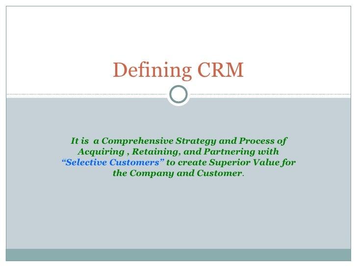 Crm Slide 2