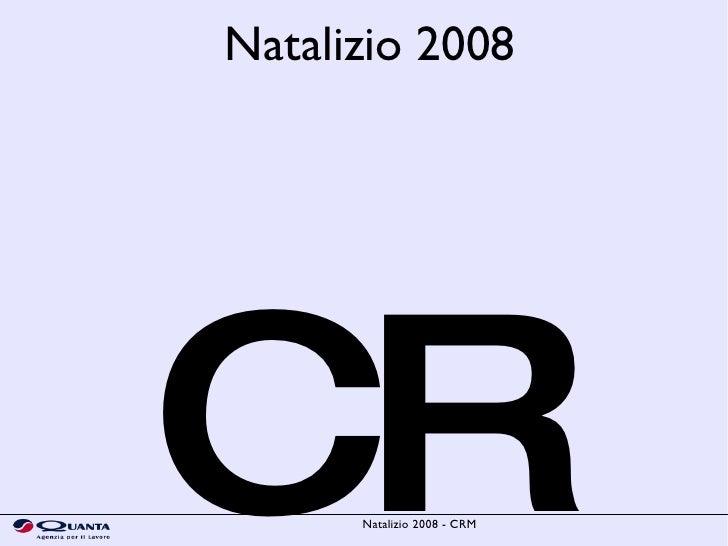 CRM Natalizio 2008