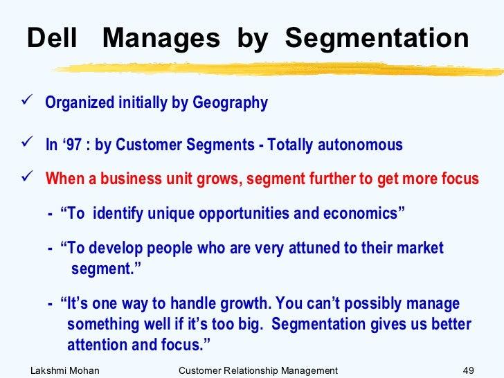 Customer relationship management case study