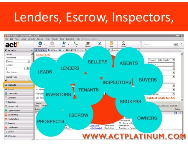 CRM Software for Commercial Real Estate – Act Software