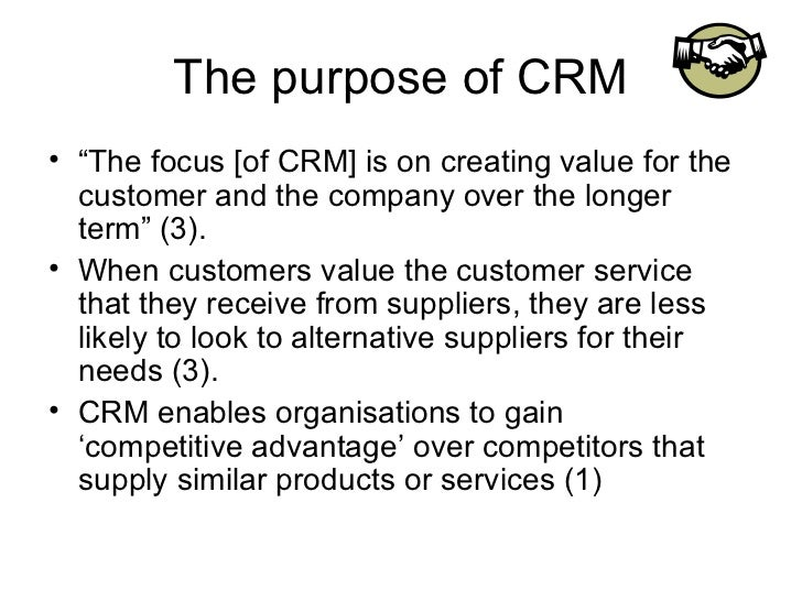 crm ppt 05 When we talk about crm projects, we cannot ignore the notion that there are many failed crm projects in an emerging market this is even more applicable.