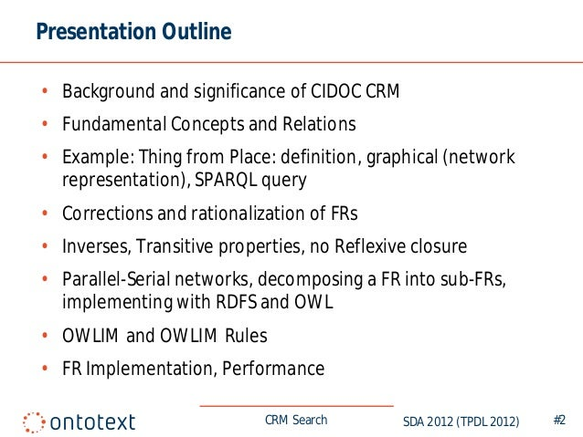 Implementing CIDOC CRM Search Based on Fundamental Relations and OWLI…