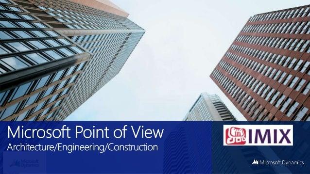  El foco de Microsoft AEC – Arquitectura – Ingeniería & Construcción  Como vender más inmuebles: CRM para Constructoras ...