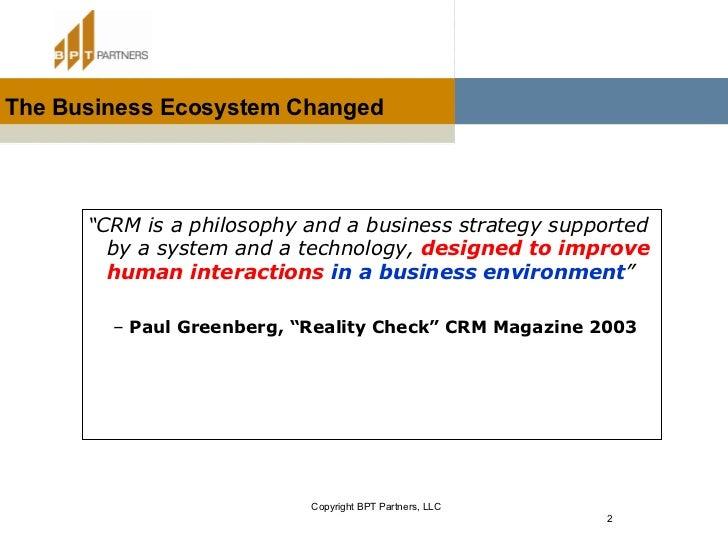 CRM & The Enterprise Value Chain Slide 2