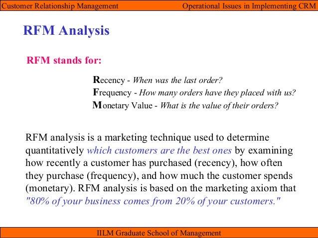 notes on rfm analysis 2009-9-21 data analysis using sas enterprise guide  transformations, multiple regression, analysis of variance,  142 notes on transformations 135.