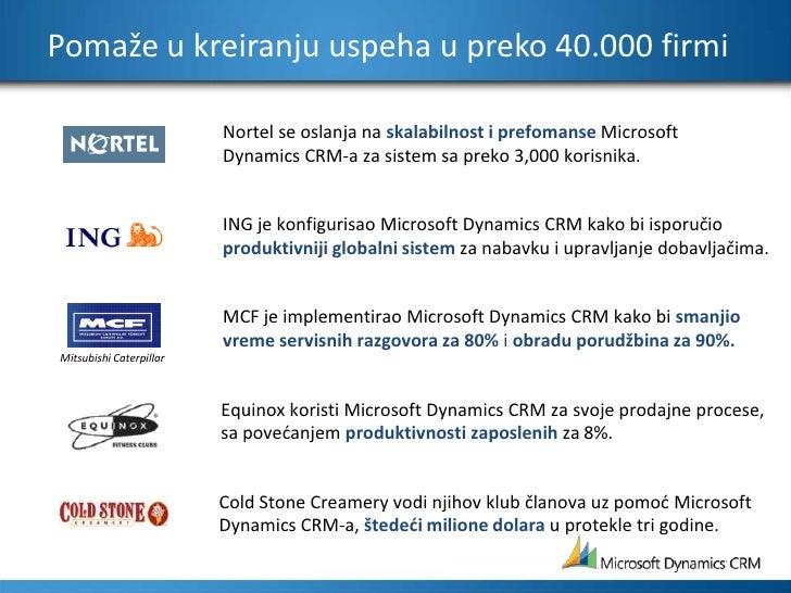Pomaže u kreiranju uspeha u preko 40.000 firmi<br />Nortel se oslanja na skalabilnost i prefomanse MicrosoftDynamics CRM-a...