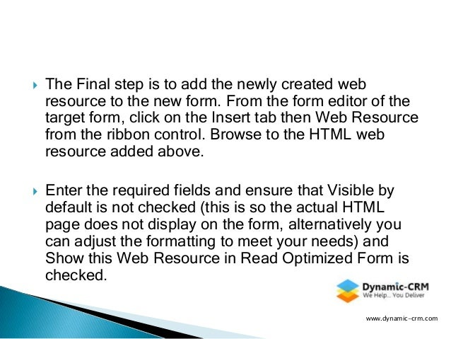 CRM 2011 JavaScript: Learn how to customize the new CRM 2011 UR12 pro…