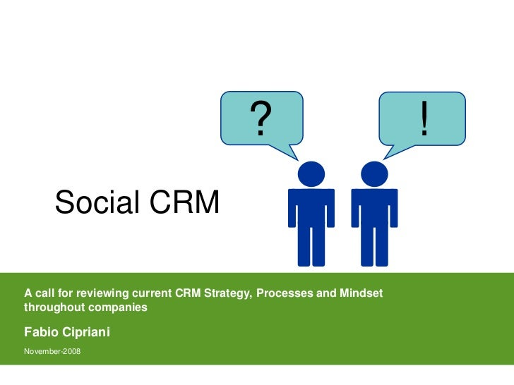 ?                           !       Social CRM        Concept, Benefits and        Approach to adopt   A call for reviewin...