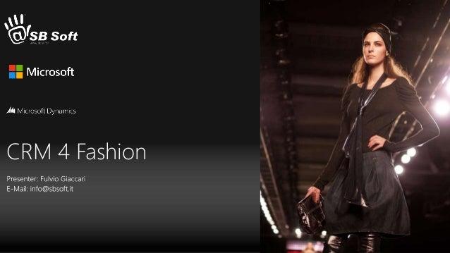 CRM 4 Fashion