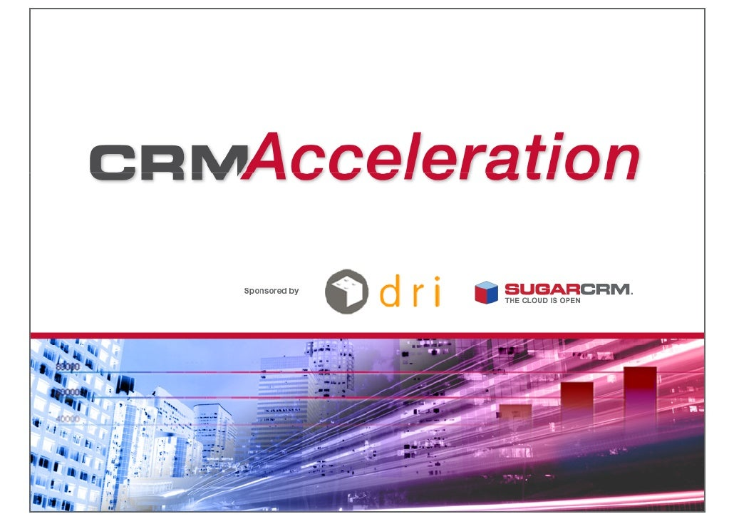 Introducing SugarCRM      Clint Oram, Co-founder            VP Products