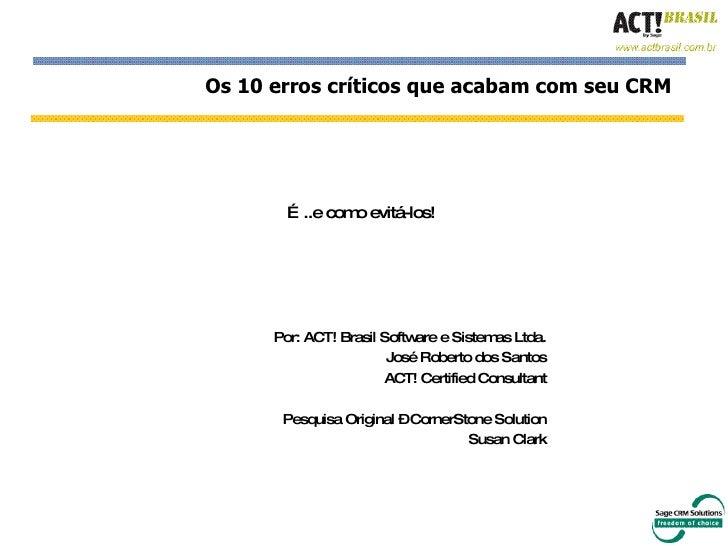 Crm Act!Brasil