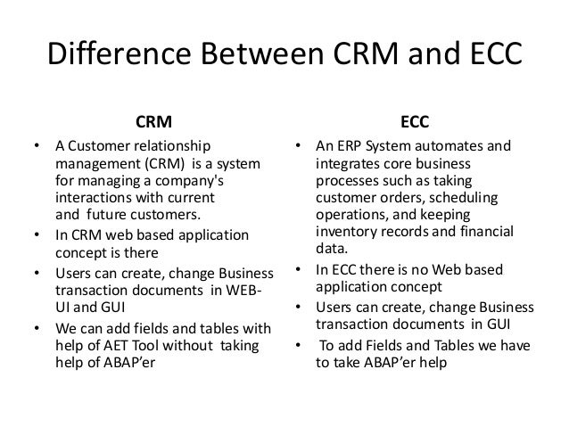 relationship between erp and bw