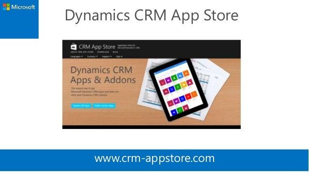 Dynamics CRM App Store  www.crm-appstore.com