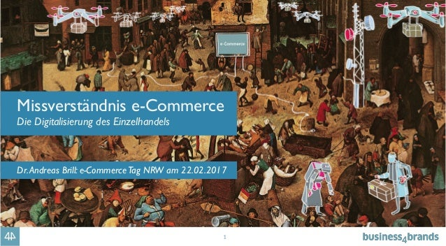 1 Missverständnis e-Commerce