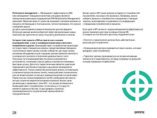 Perfomance management — Менеджмент эффективности (МЭ) (или менеджмент повышения качества) уже давно является помощником ре...