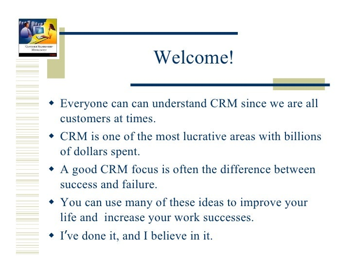 customer relationship management journal Global journal of management and business research the effect of customer relationship management customer the effect of customer relationship management.