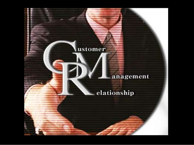  CRM  is the development and maintenance of mutually beneficial long-term relationships with strategically significant cu...