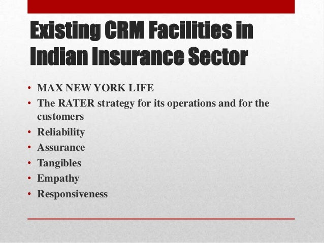 thesis on crm in insurance sector 1 insurance technology – crm in global insurance,  insurance industry is plagued with departmental silos and inefficiency  improving customer retention .