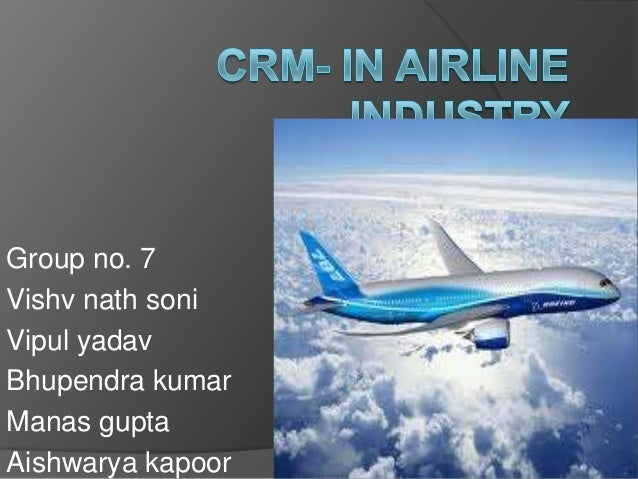 crm in airline The impact of crew resource management on flight safety published on july 25, 2014 luke lawton follow following unfollow luke lawton sign in to follow this author and perhaps this is the greatest contribution that crm has made to airline safety.