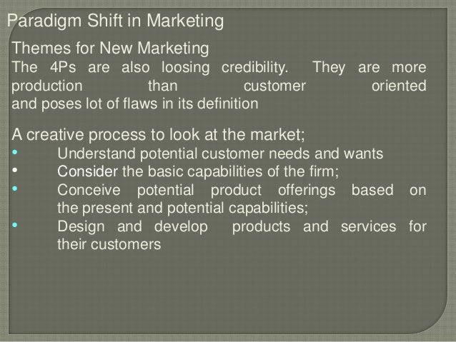 relationship marketing paradigm shift speakers