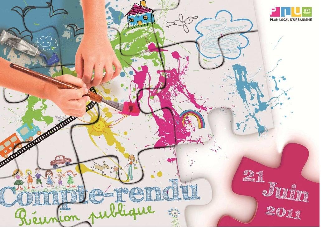 Quartier Plateau/MonmousseauDate et lieuMardi 21 juin 2011 de 18h30 à 20h30 à la Maison de quartier du Plateau/Monmousseau...